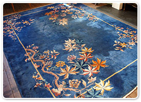 how to clean wool chinese rug